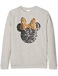 Name It Nitminnie Leah Nmt Wdi, Sweat-Shirt Fille