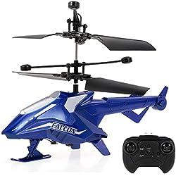 Goolsky Juguete teledirigido infrarrojo del helicóptero de CX118 2CH RC con el girocompás para los Principiantes de los niños del Juego Interior
