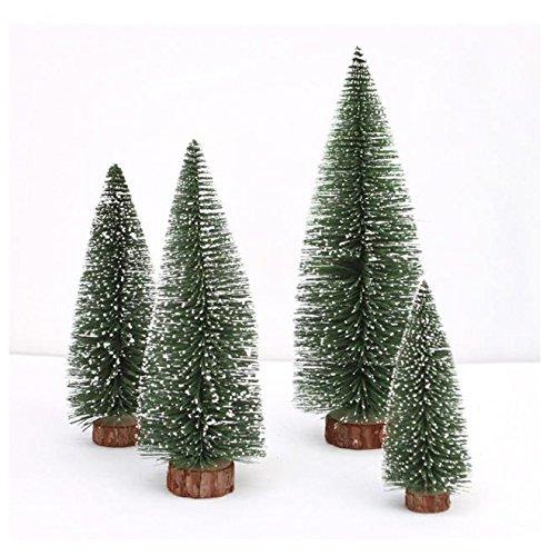 STRIR Árbol navideño árbol de Navidad Artificial Abeto Ventana de Mesa Sobremesa...