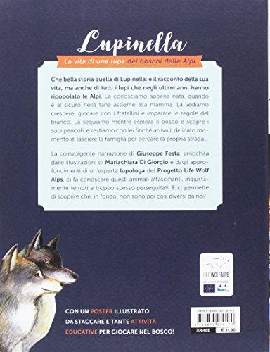 scaricare ebook gratis Lupinella. La vita di una lupa nei boschi delle Alpi PDF Epub