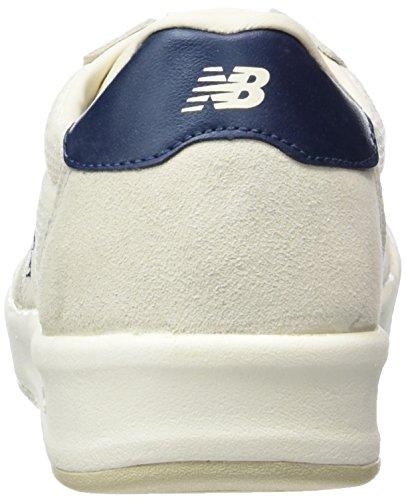 New Balance Crt300sm, Baskets Basses Homme Blanc - Weiß (White/Blue)