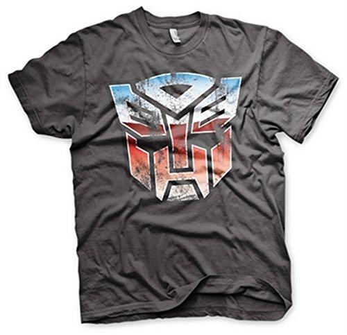 Transformers - T-shirt - Manches Courtes - Homme gris gris foncé Taille Unique -  gris - 8 ans