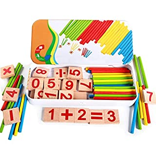 Monbedos 1Pcs Wisdom Stick Mathematical Tools For Children'S Maths - Early Learning Toys - Digital Toys - Teaching Tools (Random Color)