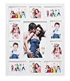 Deknudt Frames S66XK1 Bilderrahmen 20x30 Galerierahmen Weiss, 1x(20x30)+4x(10x15) 4x(15x10)+2x(10x10) Holz Fotokader