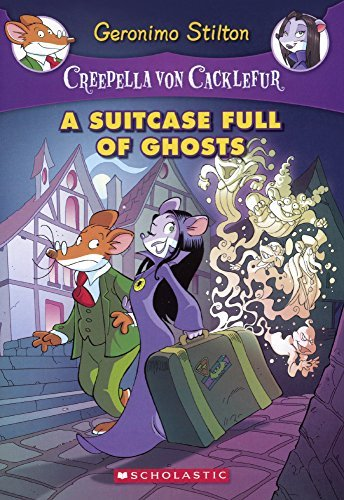 A Suitcase Full Of Ghosts (Turtleback School & Library Binding Edition) (Creepella Von Cacklefur) by Geronimo Stilton (2015-07-28)
