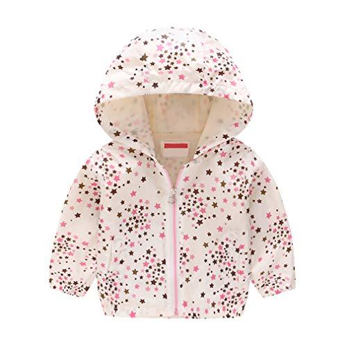 Yying Kinder Kleidung Jungen Jacken Kinder Kapuzen Windbreaker Kleinkind Baby Mantel Infant Wasserdichte Hoodies Für Mädchen - Jacke Leder 4t Jungen
