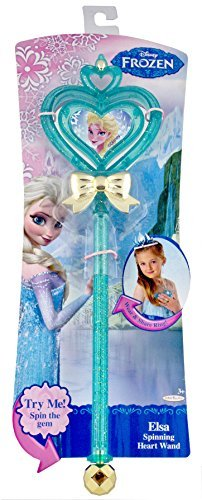 Elsa Spinning Heart Wand