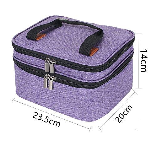 Luxja Beamertasche für QKK Mini Beamer, Tragbar Projektor Tasche für DR.Q Projektor - 6
