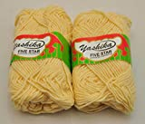#10: Yashika Best Quality Yarn Cream Colour Pack of 2