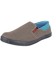 Jackwood Men's Brown Synthetic Casual Shoes 8 UK
