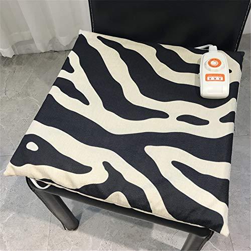 Wärmende Fäustlinge (NIGHT WALL Wärmende Sitzheizung des Winterheizungsstuhls warme Taille der Palastmatte, Zebra-Streifen A)