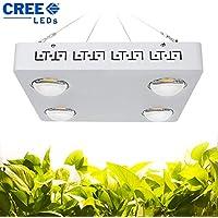 Lampara LED Cultivo - Grow Light LED Luz 400W Cultivo Interior Iluminacion Para Planta Hidropónica Flores y Hortalizas en Grow Box y Armario Cultivo