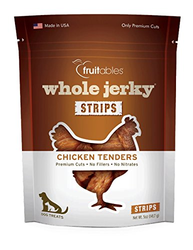 Fruitables ganze Geröstete Jerky Huhn Ausschreibungen Hund behandelt -