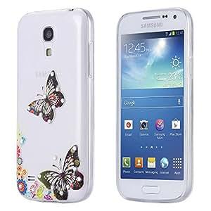 ECENCE Samsung Galaxy S4 mini I9190 I9195 I9192 Duos SLIM TPU CASE STRASS GLITTER CUSTODIA BRILLARE COVER TRASPARENTE CLEAR 23020502