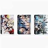 BTS Lomo Karte KPOP Bangtan Jungen Fotokarten mit Grußkarten-Box, 3 Packungen / 90 Stück