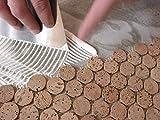 Pulverkleber. extrem flexibel (2,5 kg): Fast universell einsetzbar / Fliesen / Korkmosaik / Steinzeug /auch für (Unter)Wasseranwendungen / Innen- und Außenbereich / hitzebeständig / ideal für kleine Projekte im und um das Haus