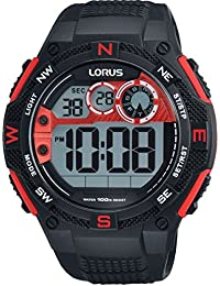 Lorus Gents Digital Chronograph Strap Watch