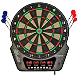 HUDORA Elektronik-Dartboard 4 LED-Displays 45x52x32cm Dartscheibe Dartspiel Dart Dartboard