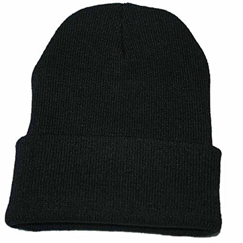 JUTOO Vente de Liquidation Bonnet de Tricotage Souple Unisexe Hip Hop Cap Bonnet de Ski Chaud en H