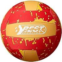 Best Sporting neopreno Beach de voleibol, varios colores, rojo y amarillo