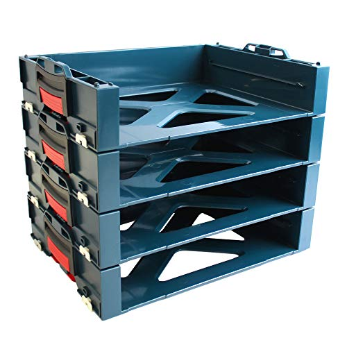 4 Stück Bosch i-BOXX active Rack 1600A001SB passend für L-Boxx 102/136 / 238