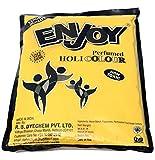 Enjoy Holi Colour 1kg Yellow Gulal Powder Pack 100% Safe & Natural Holi Color