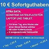 T-Mobile D1 Xtra DATA Surf NANO SIM Prepaid Karte inkl. 10 EUR Startguthaben für Laptop oder Tablet