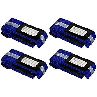 all-around24® Luggage Straps , multicoloured (Multicolour) - 3452606