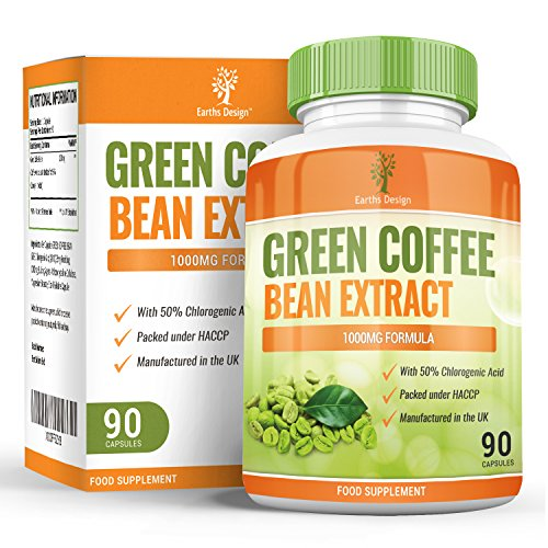 , Green Coffee Bean Extract – Made from 1000mg Coffee Arabica Beans – As Featured on TV – 90 Capsules (45 Day Supply) by Earths Design, Best Coffee Maker, Best Coffee Maker