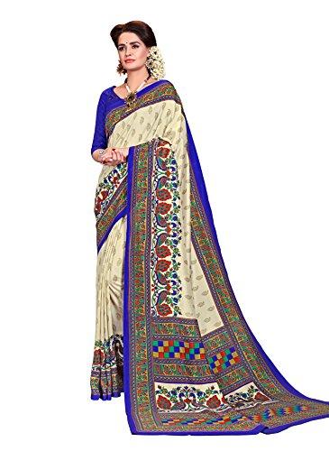 Samskruti Sarees Women\'s Fancy Printed Art Silk Saree(SPAS-4911)