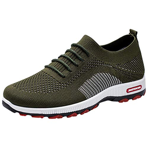 POLPqeD Moda Uomo Sport Scarpe Mesh Breathable Casual Sneakers Student Running Scarpe