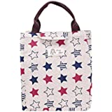 Fheaven Portable Insulated Thermal Cooler Lunch Box Carry Tote Storage Bag Picnic Case For Students