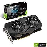 ASUS NVIDIA GeForce GTX 1660 Super Dual OC 6G Gaming Grafikkarte (6GB DDR6 Speicher, HDMI, DVI, DisplayPort, PCIe 3.0, 2,7-Slot-Design)