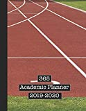 365 Academic Planner 2019-2020: Large page per week view school or college planner diary for all your organisational needs - Sport and track