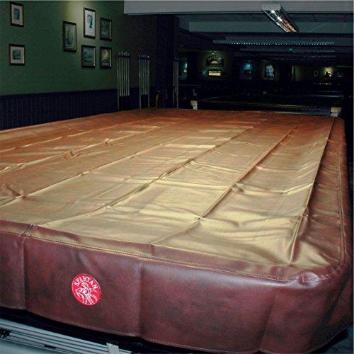 Preisvergleich Produktbild Spartan robuster,  wasserabweisender Snooker-Tischbezug in voller Größe – 365 cm,  burgunderrot