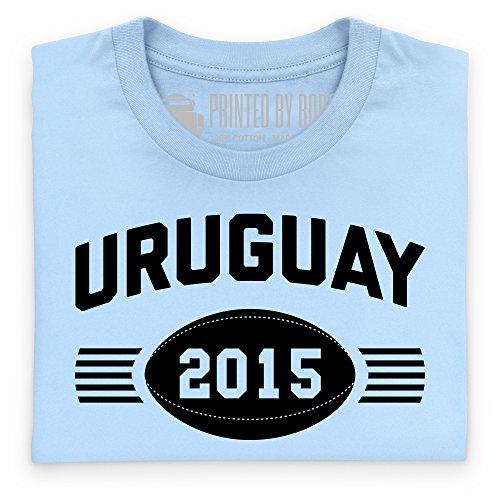 Uruguay Supporter T-Shirt, Herren Himmelblau