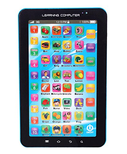 Flipzon Kids Educational Learning Tablet (Color May Vary)