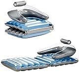 PEARL Luftmatratze Sessel: 2in1-Komfort-Wassersessel & -Luftmatratze (Aufblasbarer Sessel)