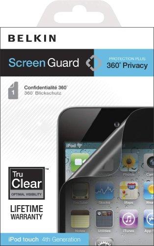 Ipod Screen Guard (Belkin Screen Guard-Rundum-Blickschutzfolie (geeignet für iPod touch 4G))