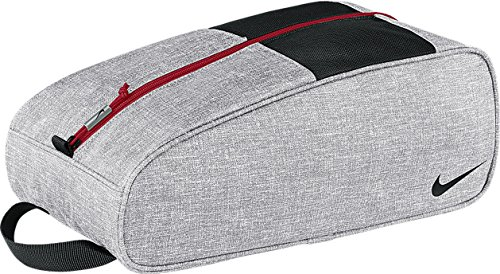 Nike Golf Sport III Chaussures De Sport/Bottes Sac Fourre-tout - Pour Homme, Argent/Noir/Gym Rouge, Taille Unique