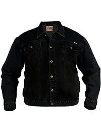 84c984d3b1183 Amazon.fr   Veste en jean - 4XL   Manteaux et blousons   Homme ...