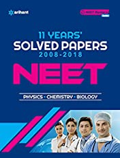 11 Years' Solved Papers CBSE AIPMT & NEET