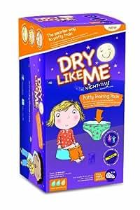 Dry Like Me Lot de 56 culottes d'entraînement pour aller sur le pot