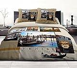 Home Passion 54205Pack 32teilig Bettbezug 57Fäden