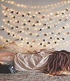 OxyLED OxyLED LED Lichterkette für zimmer,10M 100 LED IP65 Wasserdicht Lichterkette mit Fernbedienung und Timer 8 Modi LED Lichterkette Außen/ Innen batteriebetrieben für Garten Hochzeit Party Weihnachten