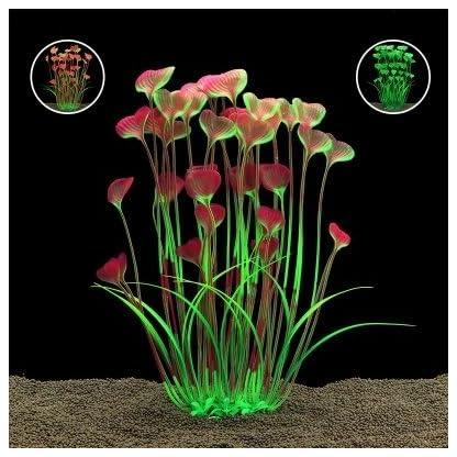 Vi.yo Artificial Water Grass Large Plastic Aquarium Plant Fish Tank Aquarium Landscape Underwater Decoration Non- toxic… 4