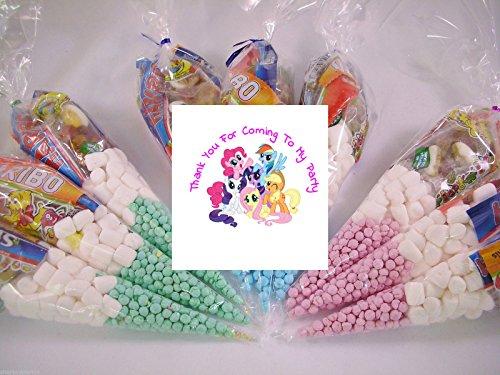 20my little pony Mottoparty gefüllt Sweet Zapfen Kinder Geburtstag Partytüten - Pony-spielzeug Gefüllt Little My