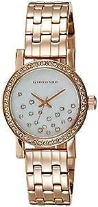 Giordano Analog White Dial Women's Watch - 2728-44