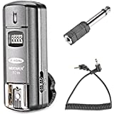 Neewer® FC-16 Multi-Channel 2.4GHz 3-IN-1 Wireless Hot Shoe Flash Receiver for Canon and Nikon DSLR Cameras