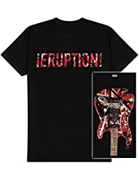 Edward Van Halen - Eruption Adult T-Shirt In Black